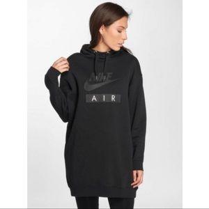 Nike Sportswear Air Long Hoodie Dress Womens